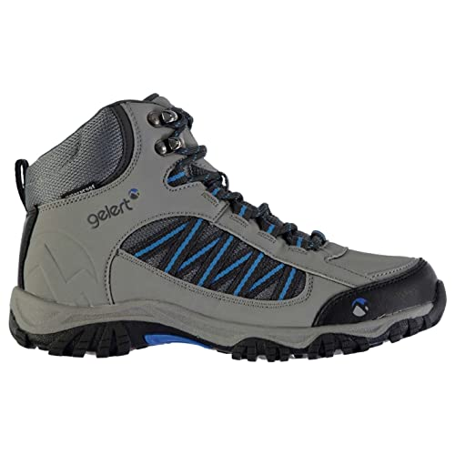 Gelert Childs Horizon Mid Waterproof Walking Boots Laces Fastened Ankle Footwear