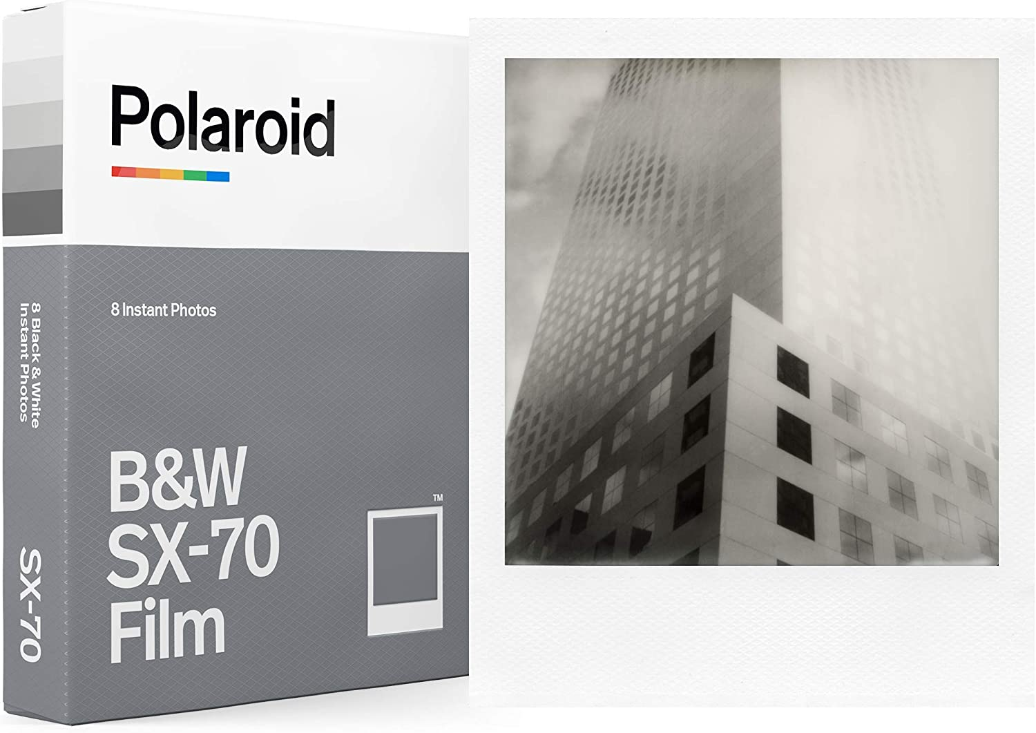 Polaroid Originals blanco y negro Film for SX-70 (6005)