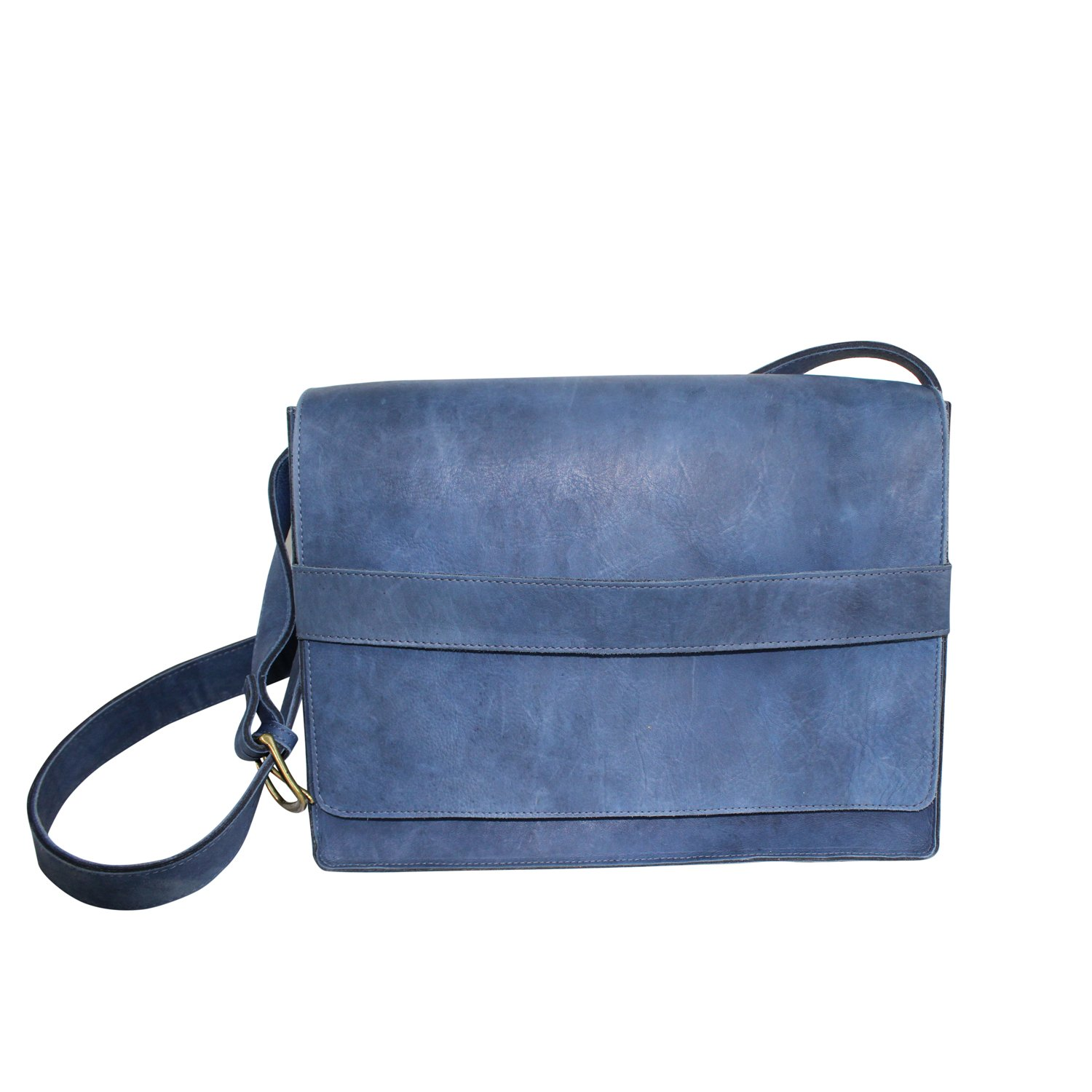 Ceri Hoover Womens Coleman Messenger Bag Navy OS