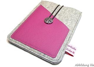 eBook Reader eReader Tablet Hülle Wollfilz, Filz, Leder Farbwahl, Maßanfertigung