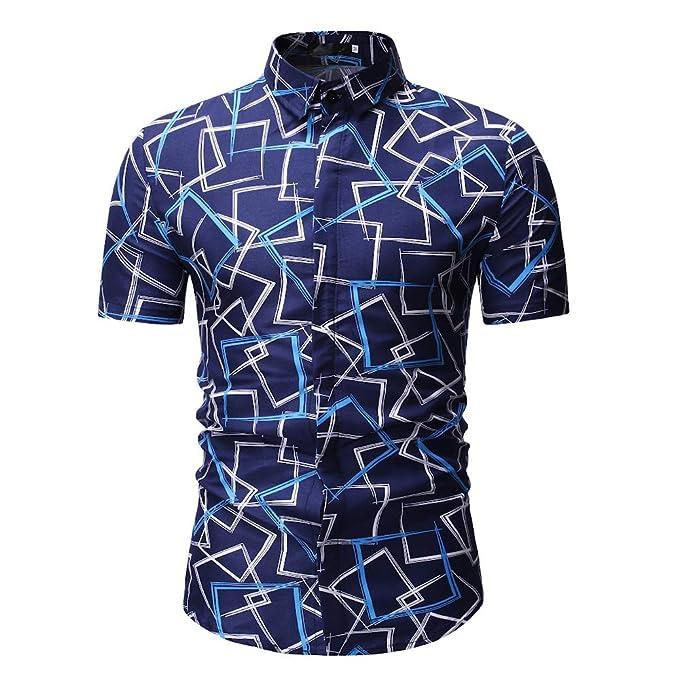 Gran promoción!Rovinci Camisas para Hombres Verano Nuevo ...