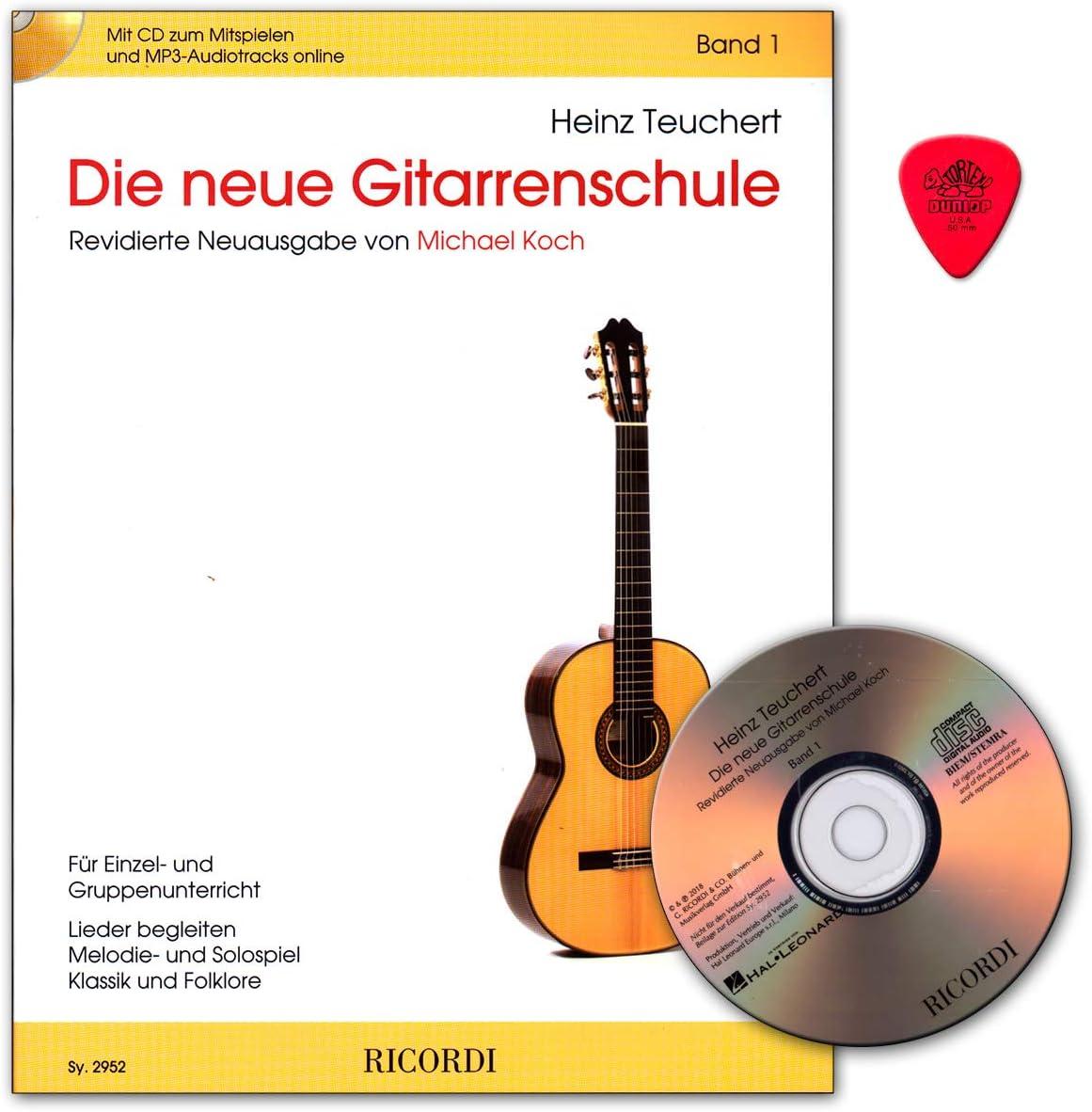Heinz Teuchert SY2952 9790204229529 - Guitarra acústica con CD ...