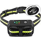 Authen Bark Collar Barking Control Training Collar with Beep Vibration and No Harm Shock(5 Adjustable Sensitivity…