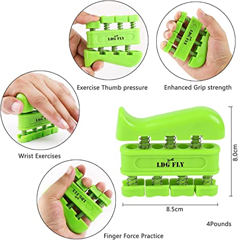 Grip Finger Exercise Palm Exercise Sport Finger Force 1Pc Increase Grip Ring YW