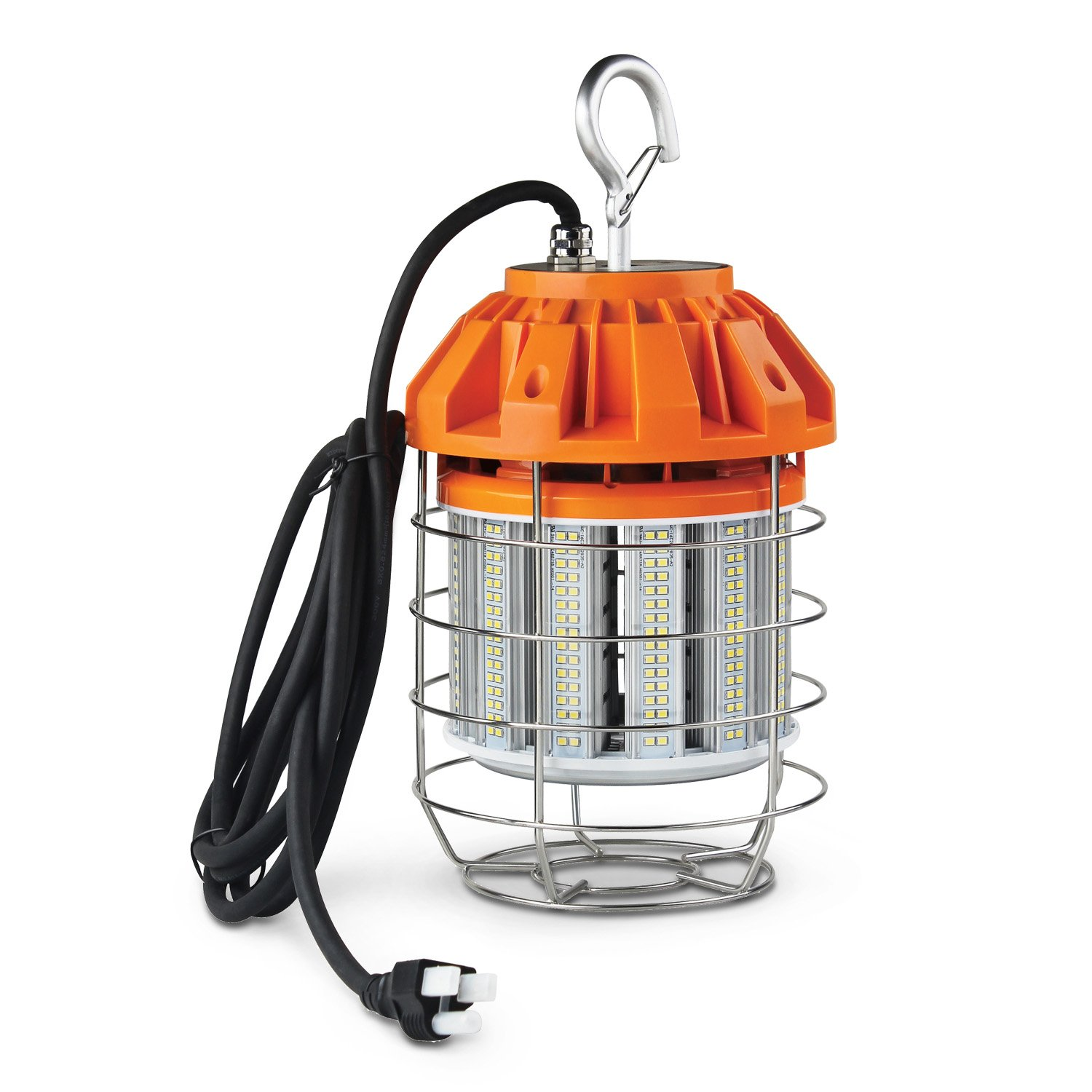 ASD LED Temporary Work Light Fixture 60W 5000K (Daylight) 6591lm Commercial Grade UL Listed, DLC Certified