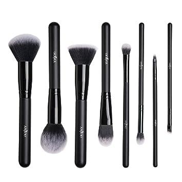 Bien connu Pinceaux Maquillage Anjou Kit de 8pcs, Poils Synthétiques Vegan  VL78