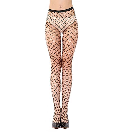 d5c695ba0a00f Women Fashion Fishnet Tights 2018 Sexy Womens Hosiery Black/White Thigh  High Tight Pants Newest Large ...