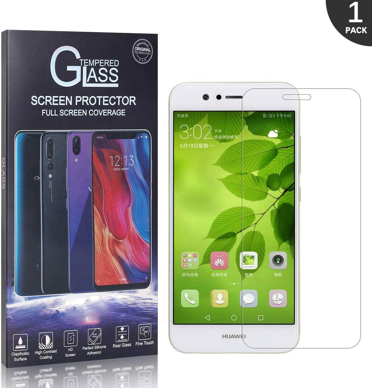 1 St/ück 9H H/ärte Kratzfest Premium Displayschutz Schutzfolie GIMTON Displayschutzfolie f/ür Huawei Nova 2 Einfach Installation Keine Luftblasen