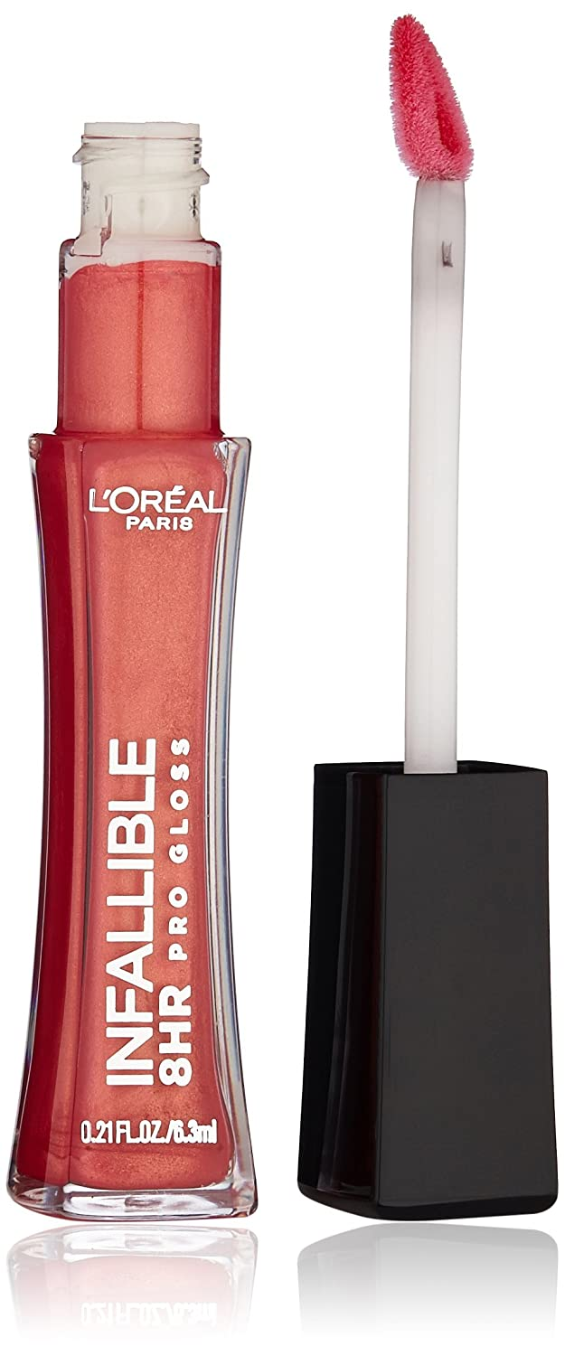 L'Oréal Paris Infallible 8 HR Pro Gloss, Blush, 0.21 fl. oz. L' Oreal Paris Cosmetics 115