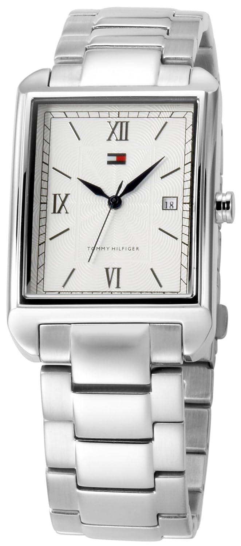 Reloj Tommy Hilfiger para Hombres 1710094 Reloj con Dial Plateado y pulso en Acero Inoxidable