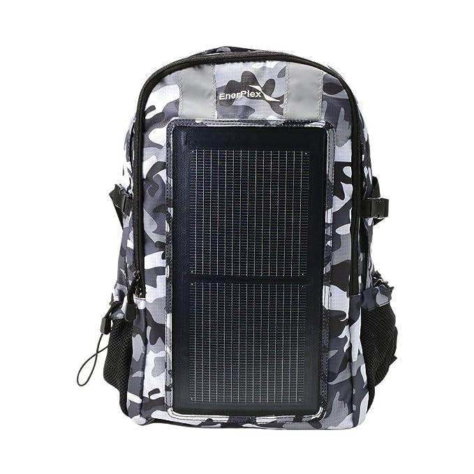 Amazon.com: EnerPlex packr – Commuter Solar Powered Mochila ...