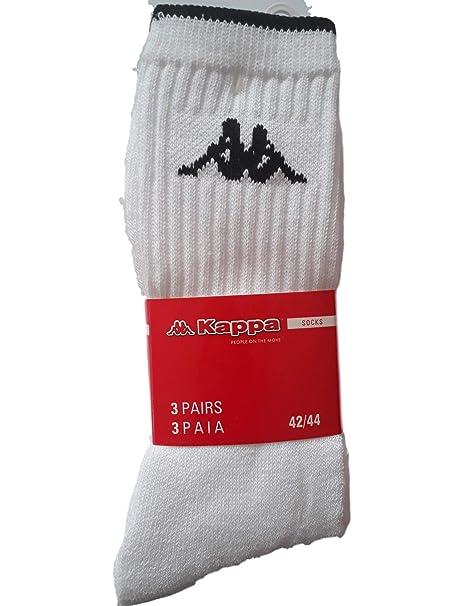 Kappa - Calcetines de deporte - para hombre Blanco Bianco 45/47