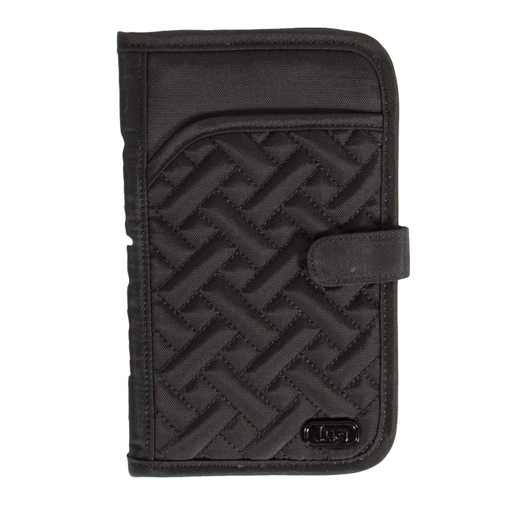 Lug Tandem Wallet, Brushed Black, One Size (Model: Tandem-Brushed Black) LUGCA
