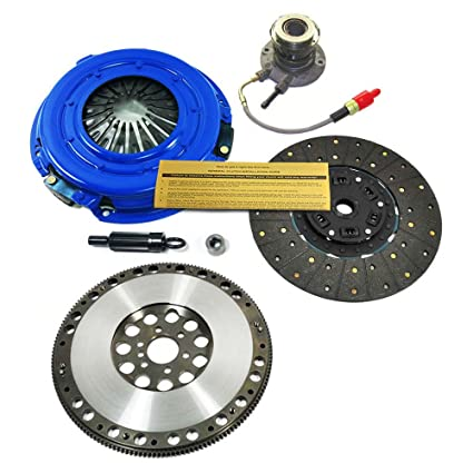 Amazon.com: EFT SD STAGE 2 CLUTCH KIT+SLAVE CYL+FLYWHEEL 97-04 CORVETTE C5 LS1 Z06 LS6 5.7L: Automotive
