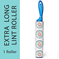 Mammoth Lint Roller-Extra Large Lint Roller, Single Roller, 90 Extra Long Sheets per Roll, Perfect for Pets