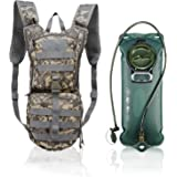 vAv YAKEDA Tactical Hydration Pack Backpack with 2.5L TPU Water Bladder Military Water Backpack for Hiking,Cycling,Running…