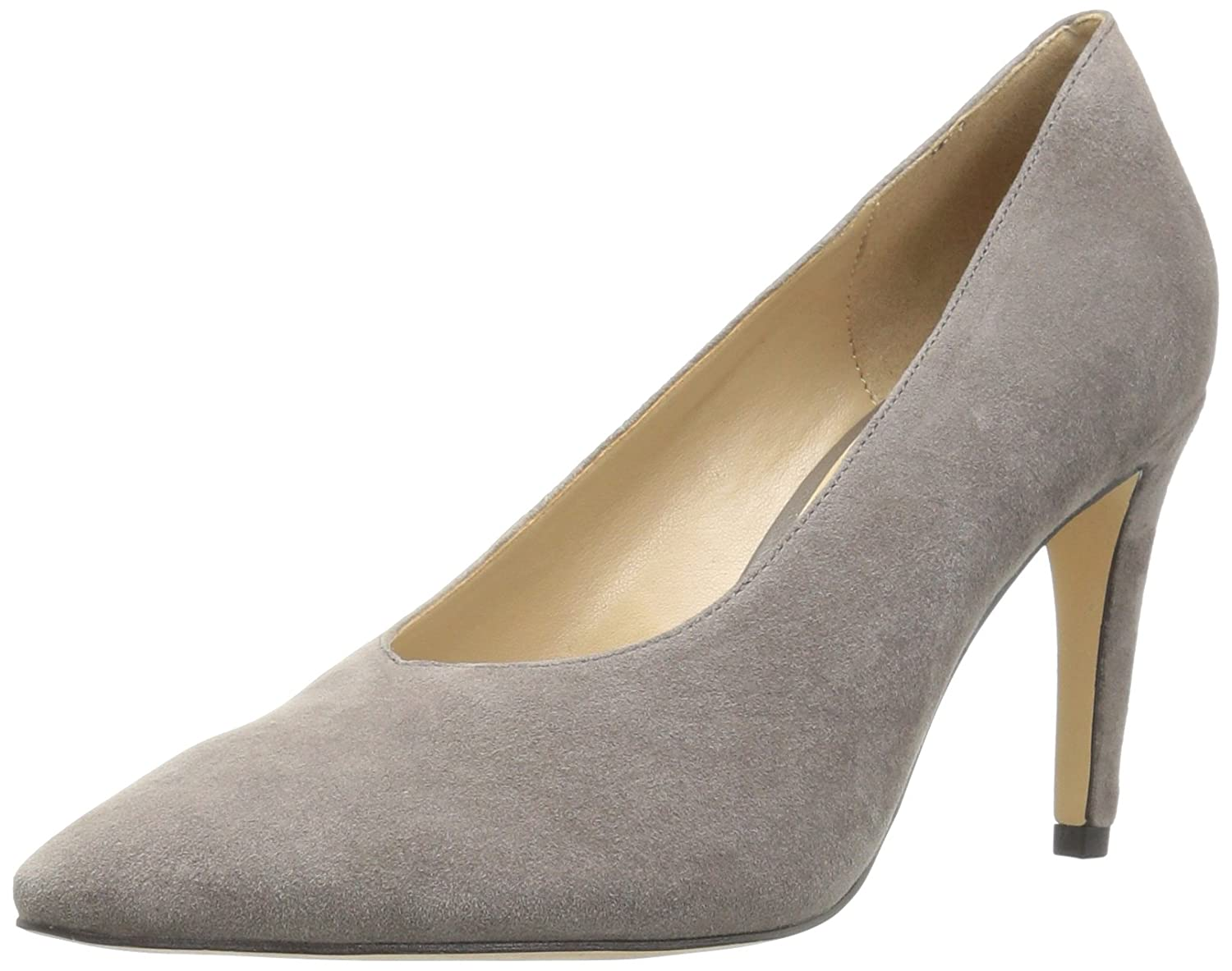 The Fix Women's Vail Choked-up Banana Heel Dress Pump B06XH77H4Q 7.5 B(M) US|Graphite Grey