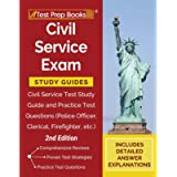 Civil Service Exam Study Guides: Civil Service Test Study Guide and Practice Test Questions (Police Officer, Clerical…
