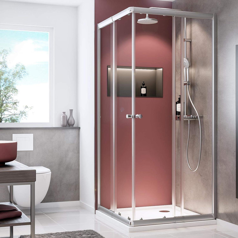 Schulte 4060991057809 - Mampara de ducha con puertas correderas ...
