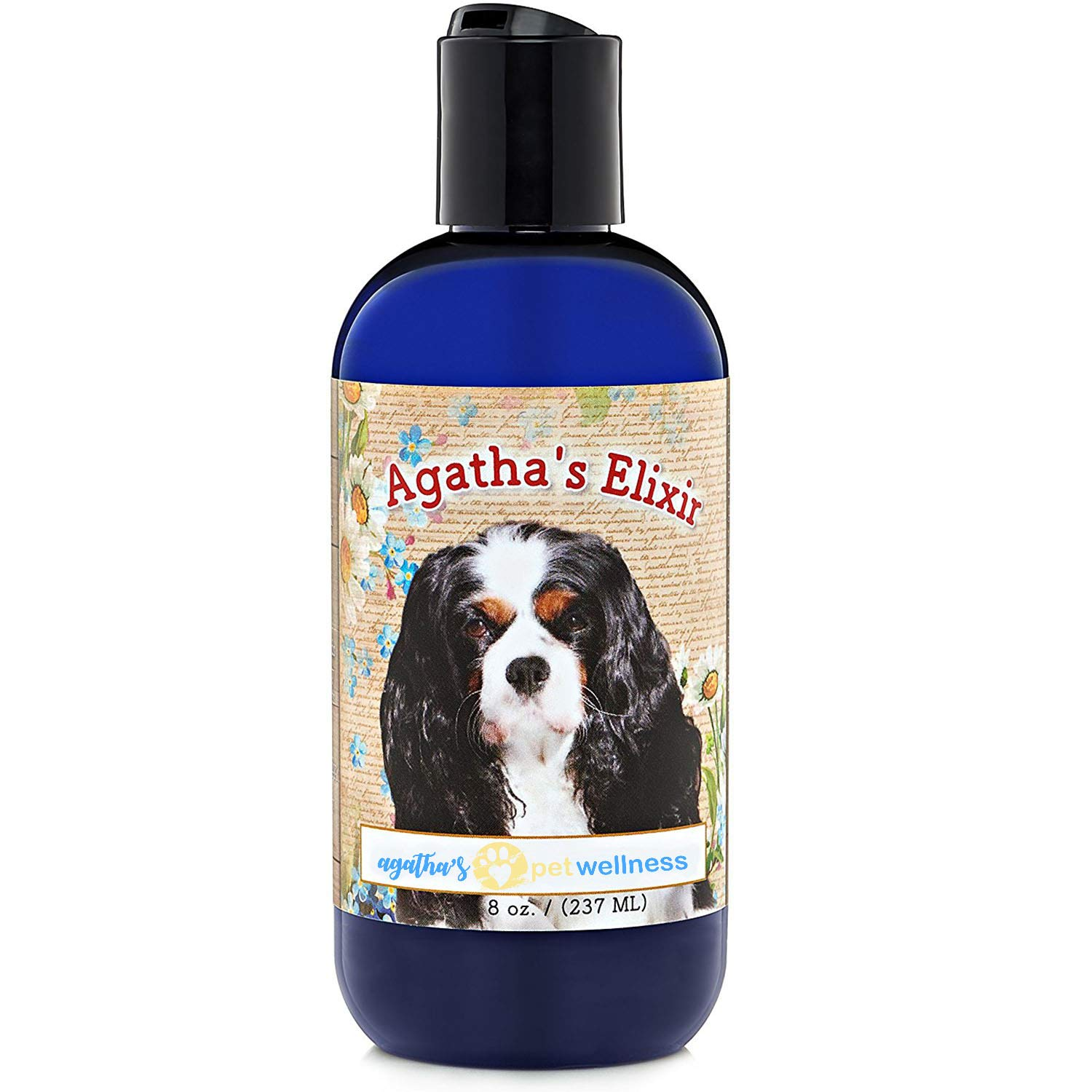 Agatha's Elixir Prebiotics for Dogs ● Appetite Stimulant for Picky Eaters and Senior Pets ● Green Tea & Milk Thistle Boost Immune System, Liver Detoxifier by Agatha's Pet Wellness