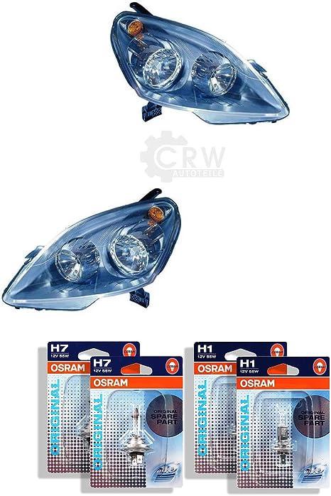 Qr Parts 69583701 Set Scheinwerfer Links 1006758 Scheinwerfer Rechts 1007848 Osram H7 Classic 64210clc 2 Stück H1 Original 64150 01b 2 Stück Auto