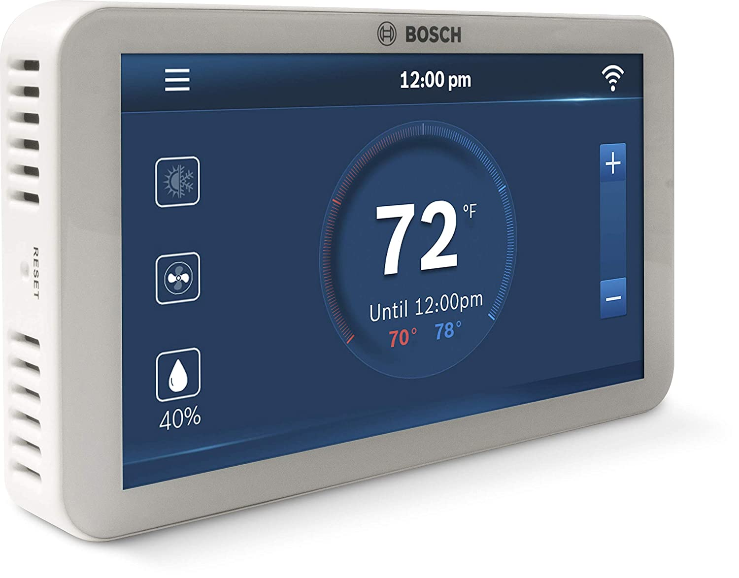 Bosch BCC100 Connected Control Smart Phone Wi-Fi Thermostat - Compatible  with Alexa - Touch Screen - - Amazon.com