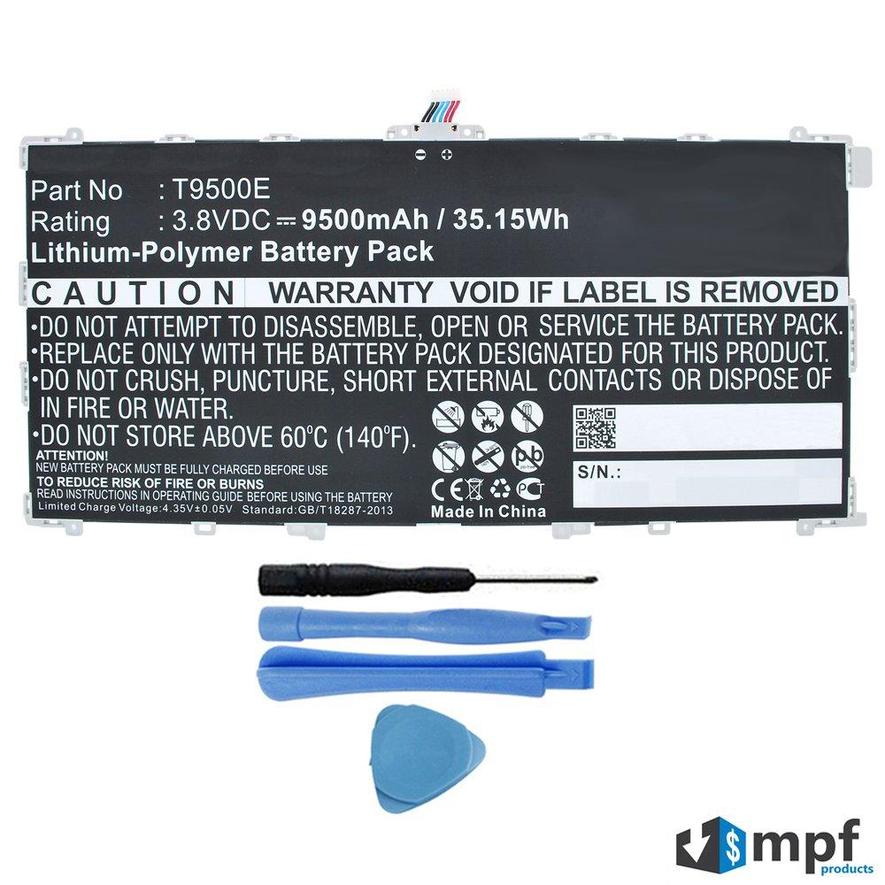 Bateria Tablet 9500mAh T9500E para Samsung Tab Pro 12.2 SM-T