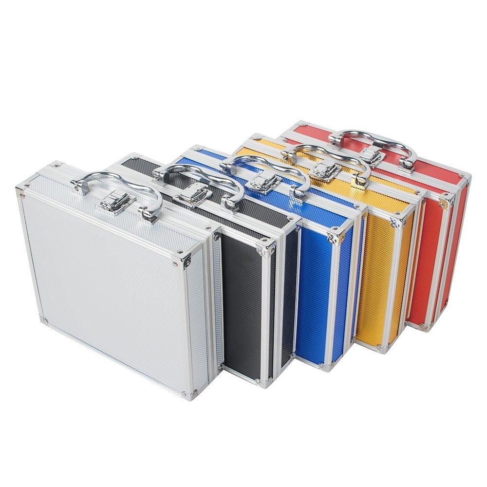 Labu Store Aluminum Tool Box Case Container for Dentist Dental Surgical Binocular Loupes Optical Glass Loupe Led Head Light Lamp