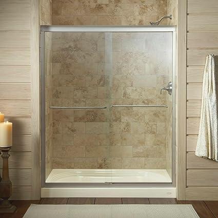 Kohler K 702206 L Mx Fluence Frameless Bypass Shower Door Matte
