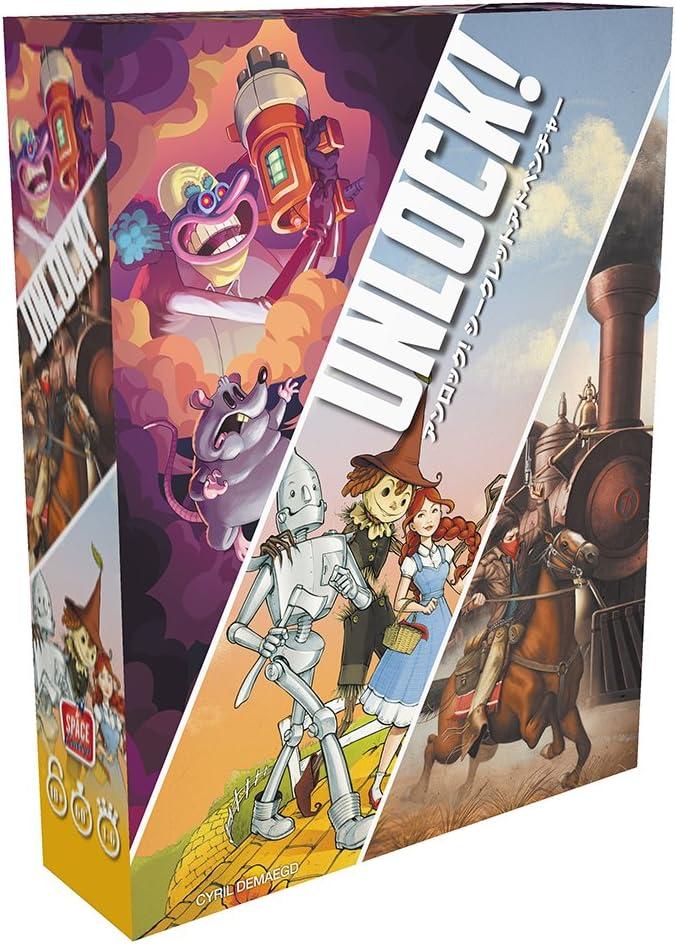 HobbyJAPAN Unlock! Secret Adventure Japanese Version: Amazon.es ...