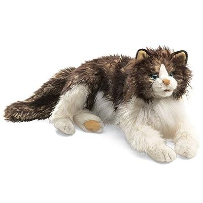 Folkmanis Ragdoll Cat Hand Puppet: Toys & Games
