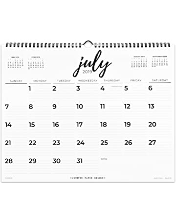 Wall Calendars | Amazon com | Office & School Supplies - Calendars