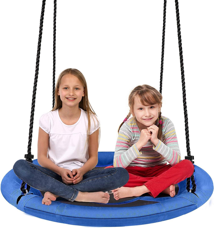 Sea Foam Toddler Seat Swing Wood Tree Swings