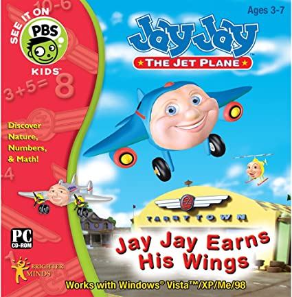 Jay Jay Earns His Wings PC Fun for Ages 3-7 NEW IN BOX