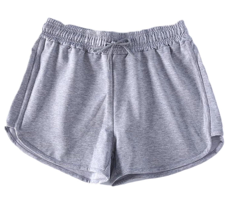 Nanquan-women clothes NQ Women's Lounge Yoga Gym Elastic High Waist Sleep Beach Shorts