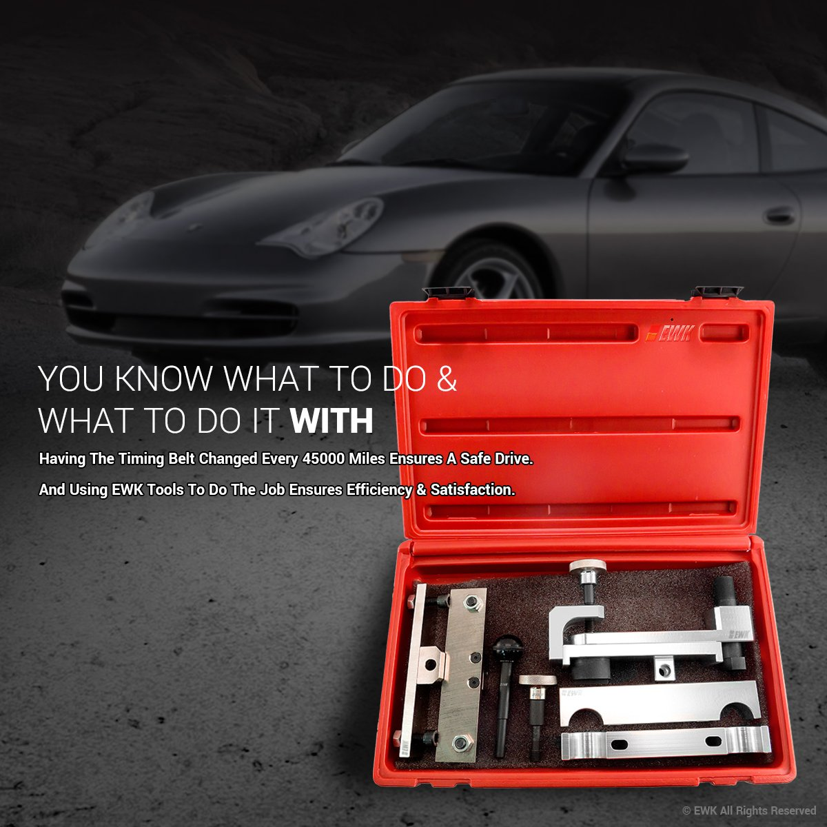 2001 Boxster 986 987 EB0162 EWK Camshaft Alignment Timing Tool for Porsche 911 996 997 2002
