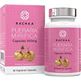 Pueraria Mirifica Capsules 500mg - 100% Pure Powder - Natural Breast & Body Tissue Firming - Menopause Relief - Vaginal…