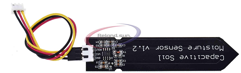 3.3~5.5V Corrosion Resistant with Gravity 3-Pin Interface for Arduino Raspberry Capacitive Analog Soil Moisture Sensor