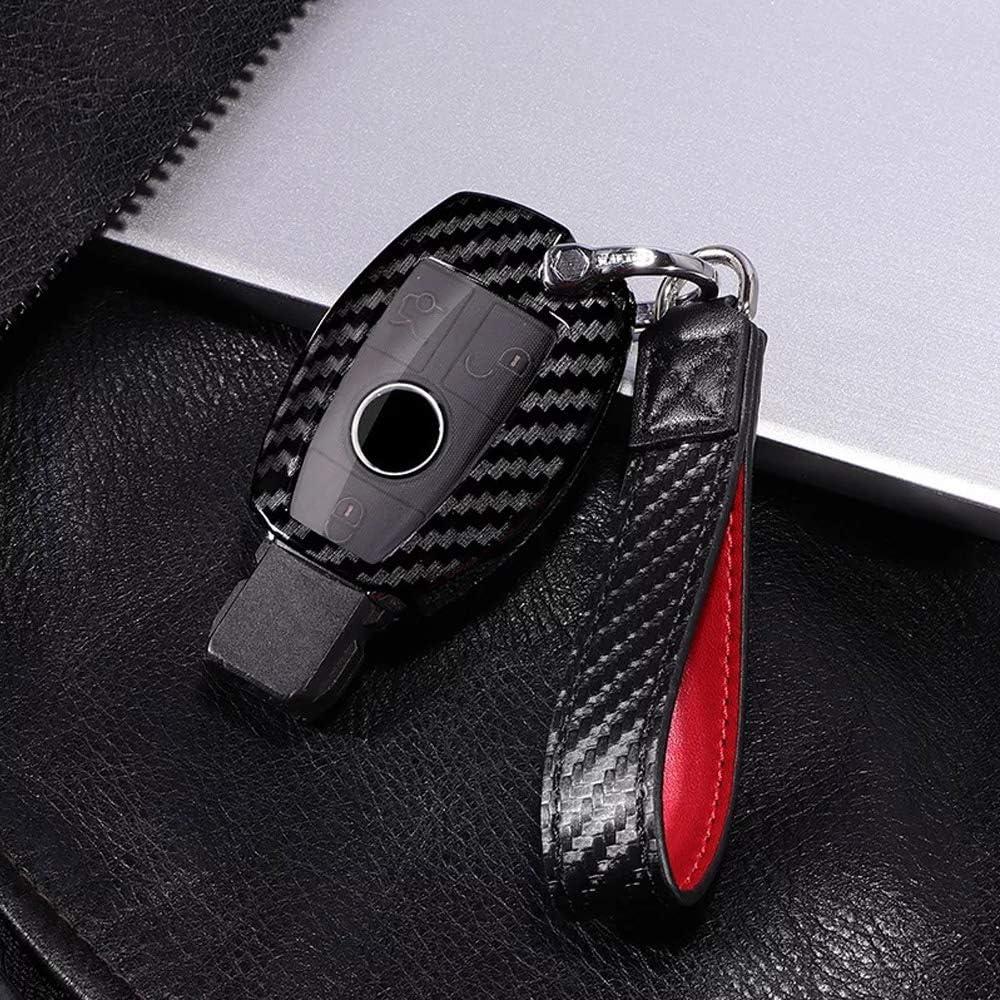 TM Luxury 2//3 Buttons 3D Bling Diamond Girl Smart keyless Entry Remote Key Fob case Cover for Mercedes-Benz A C E S Class Series,GLK CLA GLA GLC GLE CLS SLK AMG Series Royalfox Black