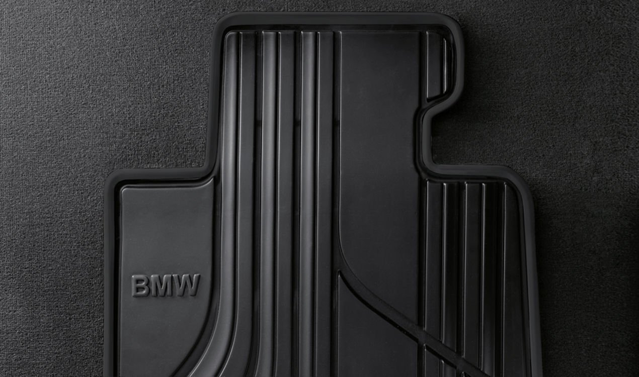 BMW Genuine All Weather Front Floor Mats F30 F31 F34 GT 3 Series 51472365968