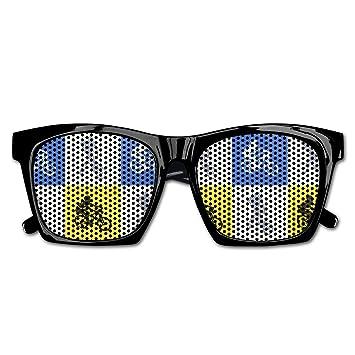 Ysm&Gaz Gafas de Sol Estilo Retro de los años 70 con patrón ...