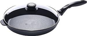 "Swiss Diamond Nonstick Fry Pan with Lid - 11"""