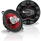 BOSS Audio Systems CH5530 5.25 Inch Car Speakers - 225 Watts of Power Per Pair, 112.5 Watts Each, Full Range, 3 Way, Sold in