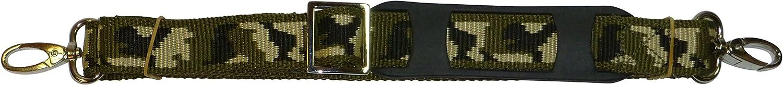 Shoulder Pad camouflage 1.5 Metres Benristraps 25mm Bag Strap Metal Buckles
