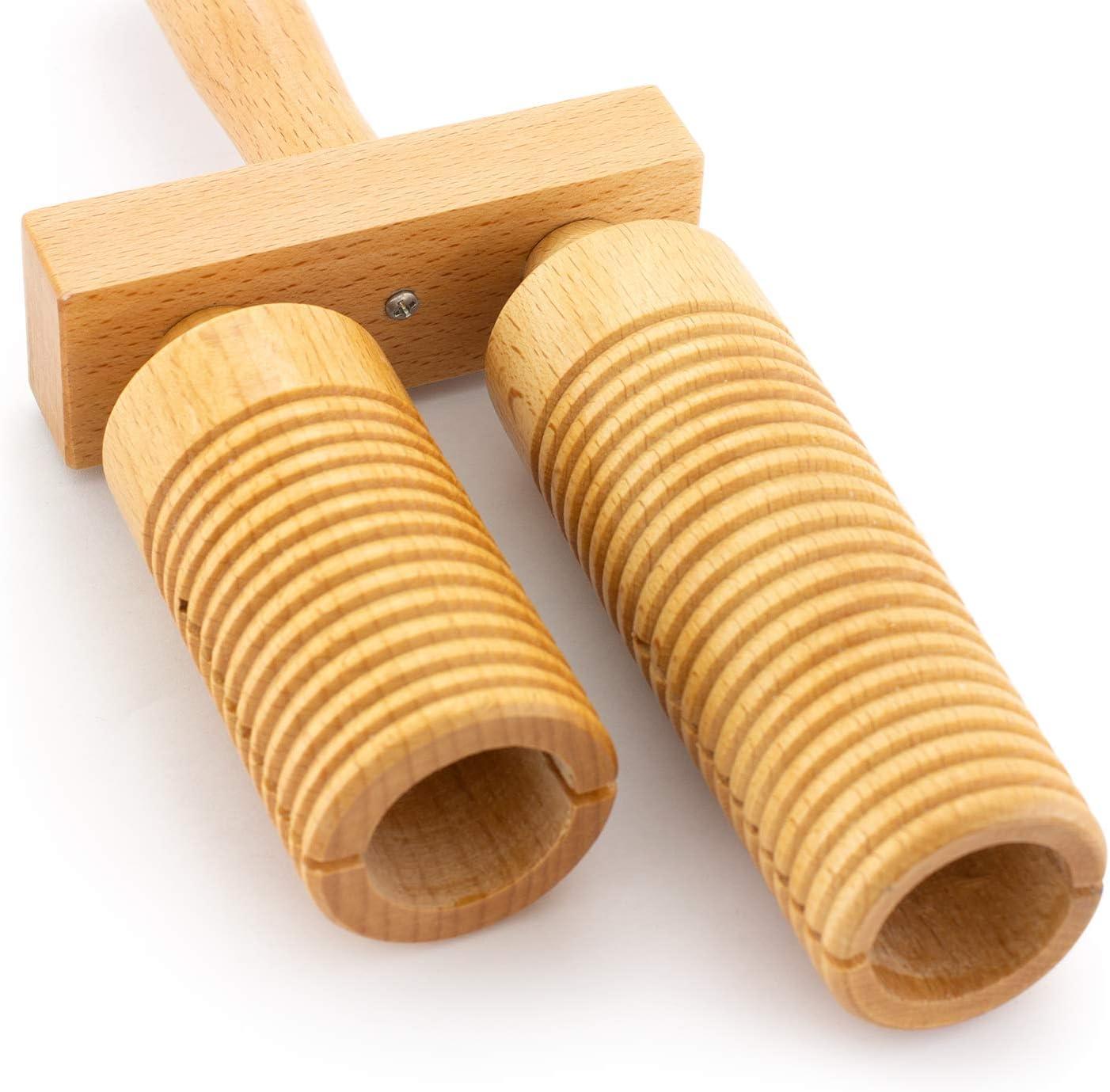 con battente Agogo in legno a 3 campane Tiger Music