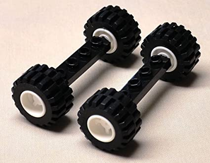 Lego White Steering Wheel Car Truck Parts New Lot Of 12