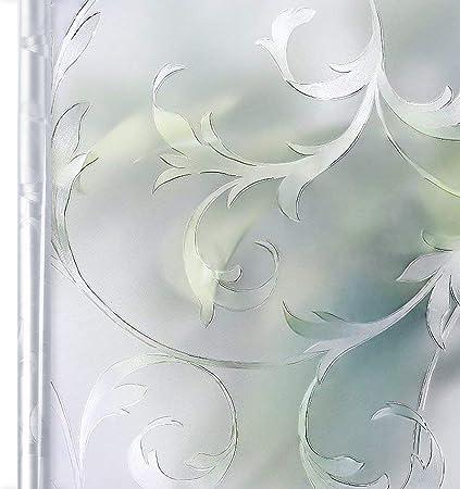 Homein Vinilo Ventana para Privacidad Vinilos Cristal Electricida Estática Traslúcido, 90 * 200cm, Película Ventana Sin Pagamento Adhesivo Facíl Desmontar y Reutilizar de Baño Cocina Oficina Anti UV: Amazon.es: Hogar