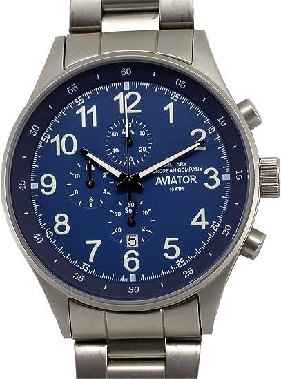 Relojes Hombre Deportivos Militares Cronógrafo Buceo Quarzo Acero Inoxidable Nuevo Garantía: Amazon.es: Relojes