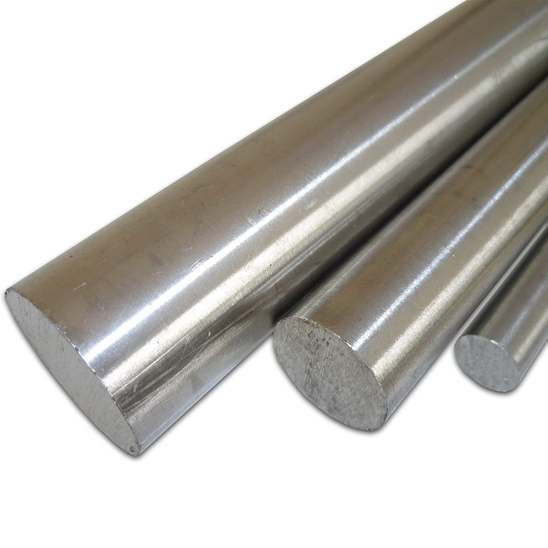 B/&T Metall Silberstahl Rund Drm /Ø 5 mm 1.2210 blank gezogen h9-2 St/ück /à 995 mm 2 Meter Stange geteilt