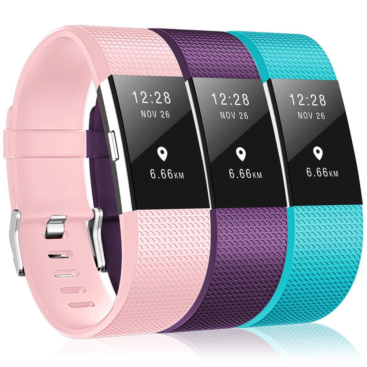 Bracelet Fitbit Charge2, bracelet de remplacement multicolore pour Fitbit Charge2 Bracelet Fitbit Charge2 DigiHero APL160019